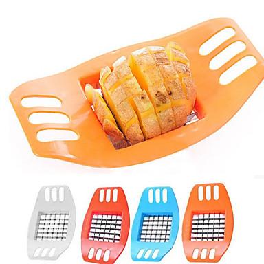 1pcs ירקות נירוסטה תפוחי אדמה מבצעה אנכי שבבי צ'יפס המסוק חותך ביצוע תפוחי אדמה כלי חיתוך כלי צ'יפס