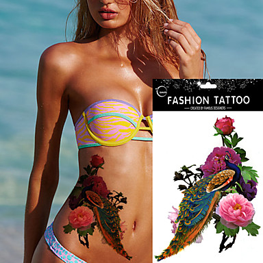 Tetkó matricák Mások Non Toxic Waterproof Női Felnőtt flash-Tattoo ideiglenes tetoválás
