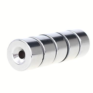 자석 장난감 조립식 블럭 초강력 희토류 자석 5 조각 25*15mm 장난감 자석 원통형 선물