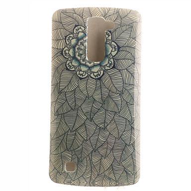 Mert LG tok Minta Case Hátlap Case Mandala Puha TPU LG LG K10 / LG G4 Stylus / LS770 / Other