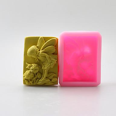 천사 모양 초콜릿 실리콘 몰드, 케이크 금형, 비누 몰드, 장식 도구 목록 bakeware