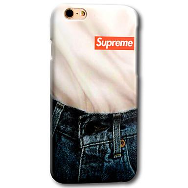 Mert iPhone 6 tok / iPhone 6 Plus tok Minta Case Hátlap Case Rajzfilmfigura Kemény PC AppleiPhone 6s Plus/6 Plus / iPhone 6s/6 / iPhone