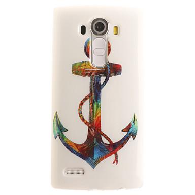 Mert LG tok Minta Case Teljes védelem Case Horgony Puha Műbőr LG LG G4 / LG G3 Beat / G3 Mini / Other