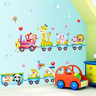 만화 벽 스티커 플레인 월스티커 데코레이티브 월 스티커, PVC 홈 장식 벽 데칼