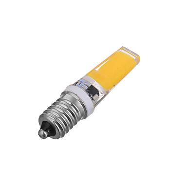 E14 LED kukorica izzók T 1 led COB Dekoratív Tompítható Meleg fehér Hideg fehér 300-400lm 3000/6000K AC 220-240V