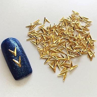 100 Nail Art dekoráció strasszos gyöngy smink Kozmetika Nail Art Design