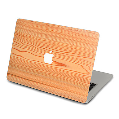 1개 스킨 스티커 용 스크래치 방지 나무결 울트라 씬 무광 PVC MacBook Pro 15'' with Retina MacBook Pro 15'' MacBook Pro 13'' with Retina MacBook Pro 13'' MacBook