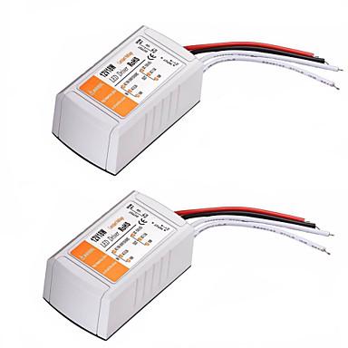 Недорогие LED аксессуары-Переменного тока 110-240 В до 12 В постоянного тока 18 Вт светодиодный преобразователь напряжения