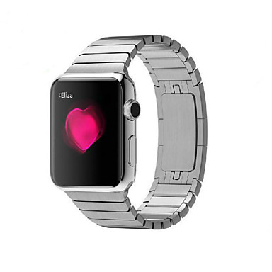 cheap Smartwatch Accessories-Watch Band for Apple Watch Series 5/4/3/2/1 Apple Butterfly Buckle Stainless Steel Wrist Strap