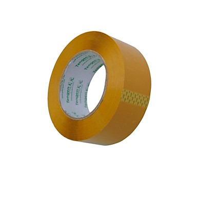 베이지 색 플라스틱 실링 테이프 / 포장 ttape / 밀봉 테이프 세로 4.5cm * 100 미터 제 (2 권 a)에