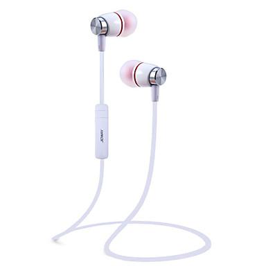 Joway H08 귀에 목 밴드 무선 헤드폰 동적 스포츠 및 피트니스 이어폰 소음 차단 마이크 포함 볼륨 컨트롤 헤드폰
