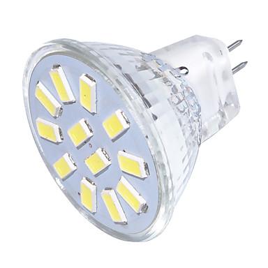 GU4(MR11) LED 스팟 조명 MR11 12 LED가 SMD 5733 장식 따뜻한 화이트 차가운 화이트 250lm 3000/6000K 9-30V