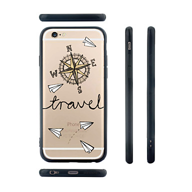 6 Plus Per X Custodia animati 8 TPU iPhone disegno iPhone Cartoni Transparente Apple iPhone per iPhone 6 retro Per Fantasia Resistente 05232839 x0vwtndqrw