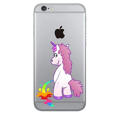 케이스 제품 iPhone 6s Plus iPhone 6 Plus iPhone 6s 아이폰 6 Apple iPhone X iPhone X iPhone 8 Plus iPhone 6 Plus iPhone 6 패턴 뒷면 커버 유니콘 하드 TPU 용