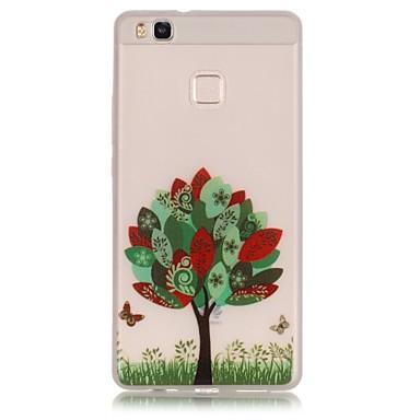 용 화웨이 케이스 / P9 / P9 Lite / P8 Lite 야광 케이스 뒷면 커버 케이스 Other 소프트 TPU Huawei 화웨이 P9 / 화웨이 P9 라이트 / Huawei P8 Lite / Huawei Honor 5X