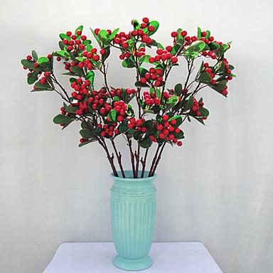 Sztuczne Kwiaty 1 Gałąź Styl nowoczesny Rośliny Bukiety na stół