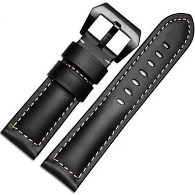 커피 / 블랙 / 그린 / 브라운 / 오렌지 가죽 / 메탈 스포츠 밴드 용 Garmin 손목 시계 26mm