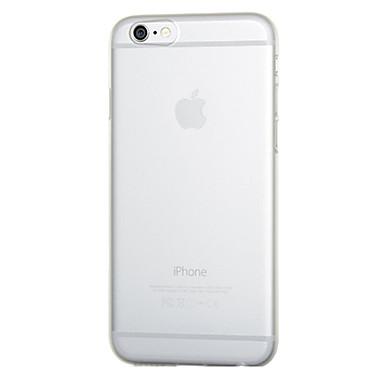 tok Για Apple iPhone 6 iPhone 6 Plus Εξαιρετικά λεπτή Παγωμένη Ημιδιαφανές Πίσω Κάλυμμα Συμπαγές Χρώμα Σκληρή PC για iPhone 6s Plus