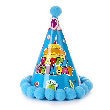 모자 포토존 소품 생일 파티 액세서리 클래식 테마 카드 종이