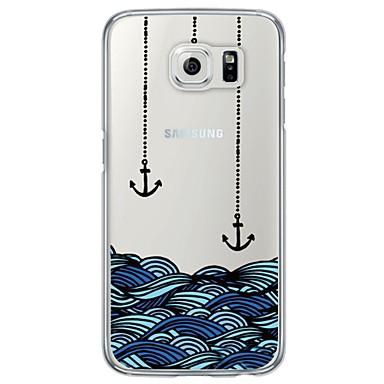 케이스 제품 Samsung Galaxy Samsung Galaxy S7 Edge 울트라 씬 반투명 뒷면 커버 닻 소프트 TPU 용 S7 edge S7 S6 edge plus S6 edge S6 S5 S4