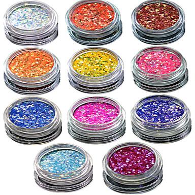 1 Biżuteria do paznokci Glitter i Poudre Puder Błyskotki Klasyczny Glitter & Sparkle Lekki Ślub Wysoka jakość Codzienny Nail Art Design