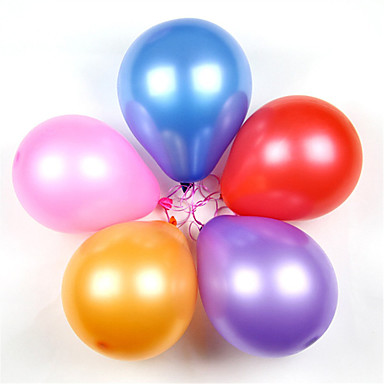 Bälle / Ballons / Bildungsspielsachen Party / Klassisch / Aufblasbar Silikon / Latex 100 pcs Klassisch Kinder Jungen Geschenk
