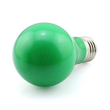 5W E27 Dekoratif Işıklar A60(A19) 20 SMD 3020 420 lm Yeşil Dekorotif AC 100-240 V 1 parça
