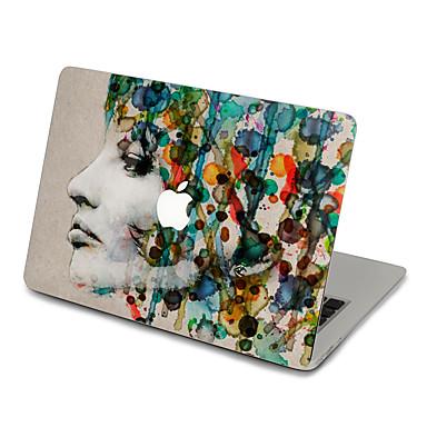 1 db Tok matrica mert Karcolásvédő Rajzfilm Ultravékony Matt Minta PVC MacBook Pro 15'' with Retina MacBook Pro 15 '' MacBook Pro 13''