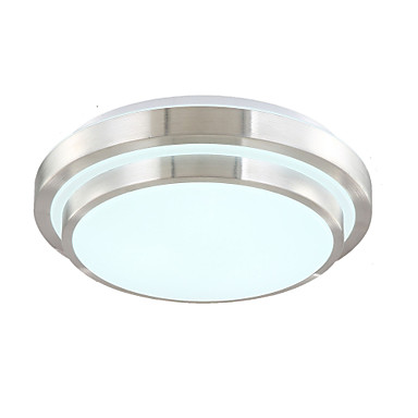 Modern / Contemporary Flush Mount Ambient Light - LED, 90-240V, Warm White Cold White Dimmable With Remote Control, LED Light Source