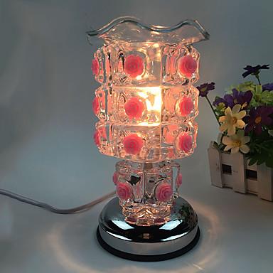 1db dugva a villamos rózsák édes lényege petróleumlámpa Aing fajta díszített ajándék asztali lámpa érintésérzékeny