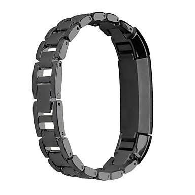 시계 밴드 용 Fitbit Alta 핏빗 클래식 버클 스테인레스 스틸 손목 스트랩