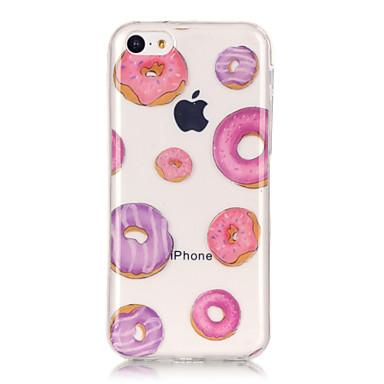 Mert iPhone 6 tok / iPhone 6 Plus tok IMD / Ultra-vékeny / Átlátszó / Minta Case Hátlap Case Rajzfilmfigura Puha TPU AppleiPhone 6s