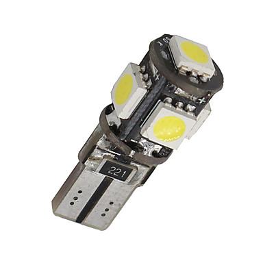 10 x erro canbus t10 branco livre 5-SMD 5050 levou lâmpadas W5W interior luz 194 168