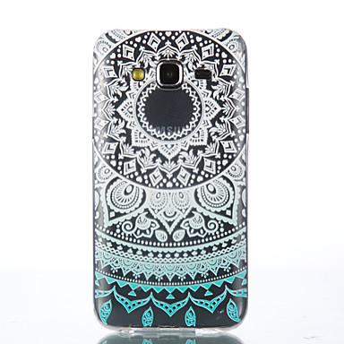 Mert Samsung Galaxy tok Átlátszó Case Hátlap Case Mandala Puha TPU Samsung J5 / Grand Prime