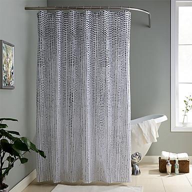 Modern Poly / Cotton Blend 70x72inch  -  Jó minőség Zuhanyfüggönyök