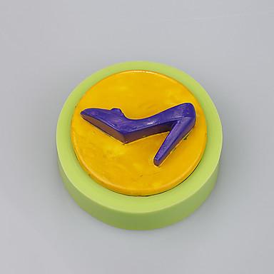 kis kerek magas sarkú cipő jelöljük szilikon torta forma színes random