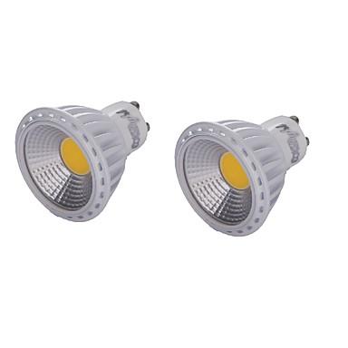 GU10 LED szpotlámpák MR16 1 led COB Dekoratív Meleg fehér Hideg fehér 450lm 3000/6000K AC 85-265 AC 220-240 AC 110-130V