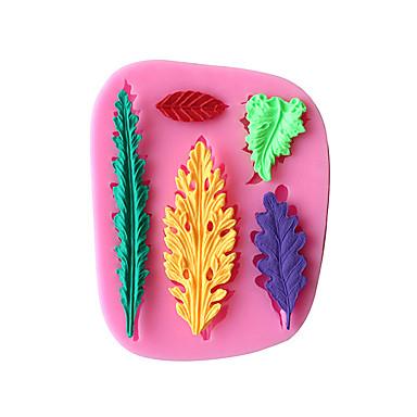 케이크 주형 얼음 초콜렛 피자 파이 Cupcake 쿠키 케이크 브레드 실리콘 환경친화적인 DIY 고품질 3D 베이킹 도구 넌스틱