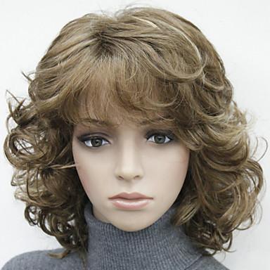 Sentetik Peruklar Sentetik Saç Çoklu-renk Peruk Kadın's #130