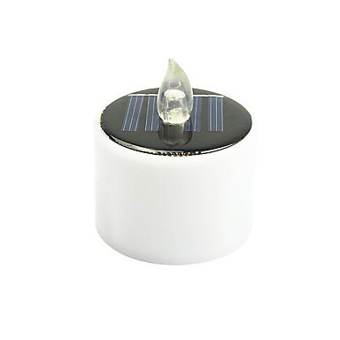 1db napenergia gyertyafényes energiatakarékos elektromos fény háztartási napelemes lámpák