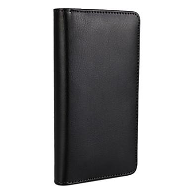 Mert iPhone 7 tok / iPhone 6 tok / iPhone 5 tok Pénztárca / Kártyatartó / Állvánnyal / Flip Case Teljes védelem Case Egyszínű Kemény Műbőr