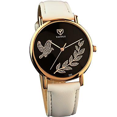 여성용 손목 시계 패션 시계 석영 / PU 밴드 캐쥬얼 멋진 블랙 화이트 레드 브라운