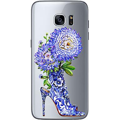 케이스 제품 Samsung Galaxy Samsung Galaxy S7 Edge 패턴 뒷면 커버 꽃장식 소프트 TPU 용 S7 edge S7 S6 edge plus S6 edge S6