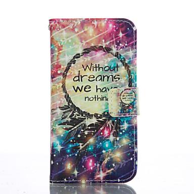 Недорогие Чехлы и кейсы для Galaxy S3 Mini-Кейс для Назначение SSamsung Galaxy S7 edge / S7 / S6 edge plus Бумажник для карт / со стендом / Флип Чехол Цветы Мягкий Кожа PU