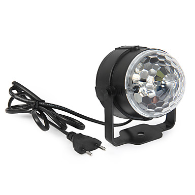 YWXLIGHT® 360lm Festoon Oświetlenie sceniczne LED Obrotowa 1 Koraliki LED High Power LED Dekoracyjna Aktywacja za pomocą dźwięku RGB