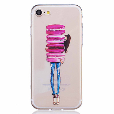 Mert iPhone 7 tok / iPhone 7 Plus tok / iPhone 6 tok Minta Case Hátlap Case Gyümölcs Puha TPU AppleiPhone 7 Plus / iPhone 7 / iPhone 6s