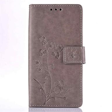 Mert iPhone 6 tok / iPhone 6 Plus tok Kártyatartó / Dombornyomott Case Teljes védelem Case Virág Kemény Műbőr AppleiPhone 6s Plus/6 Plus