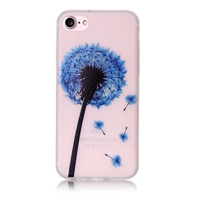 Mert iPhone 7 tok / iPhone 7 Plus tok / iPhone 6 tok Foszforeszkáló / Minta Case Hátlap Case Pitypang Puha TPU AppleiPhone 7 Plus /
