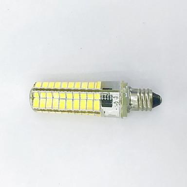 4W 400-500lm E11 Żarówki LED kukurydza T 80LED Koraliki LED SMD 5730 Dekoracyjna Ciepła biel / Zimna biel 85-265V / 110-130V / 220-240V