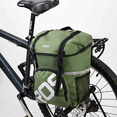 Rosewheel 자전거 가방 15L 어깨에 매는 가방 자전거 트렁크 백/자전거 짐바구니 방수 착용 가능한 충격방지 싸이클 가방 PVC 600D 폴리 에스테르 싸이클 백 사이클링 / 자전거